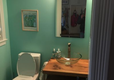 Powder Room MaineTainers Custom Renovations, Cape Elizabeth, ME